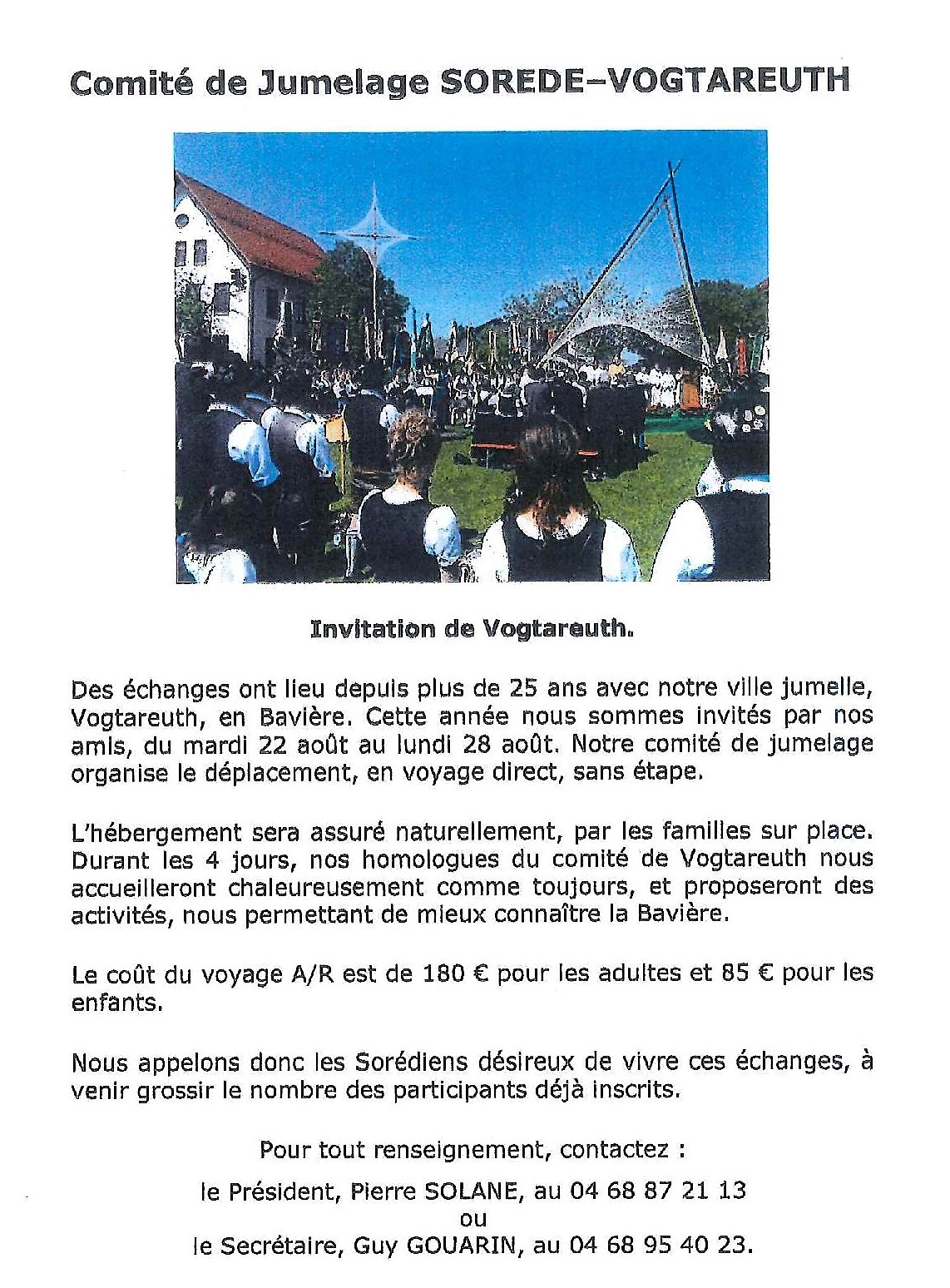 invitation  vogtareuth
