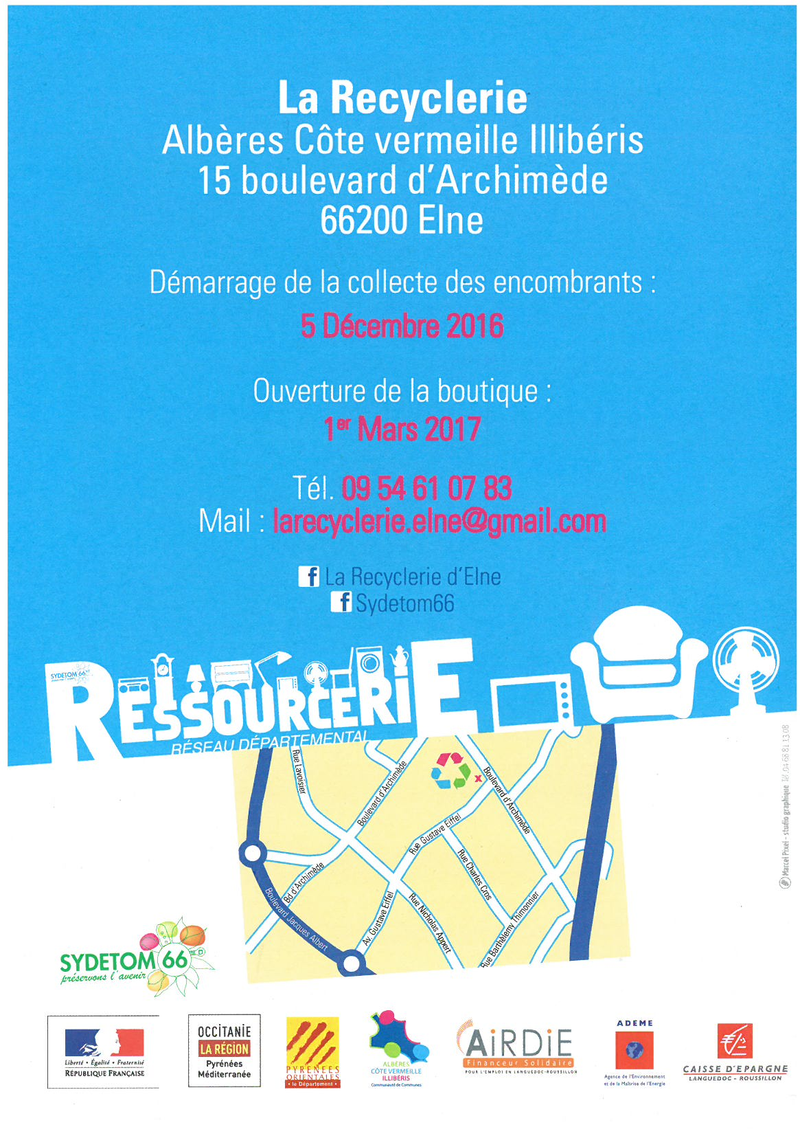 recyclerie contact